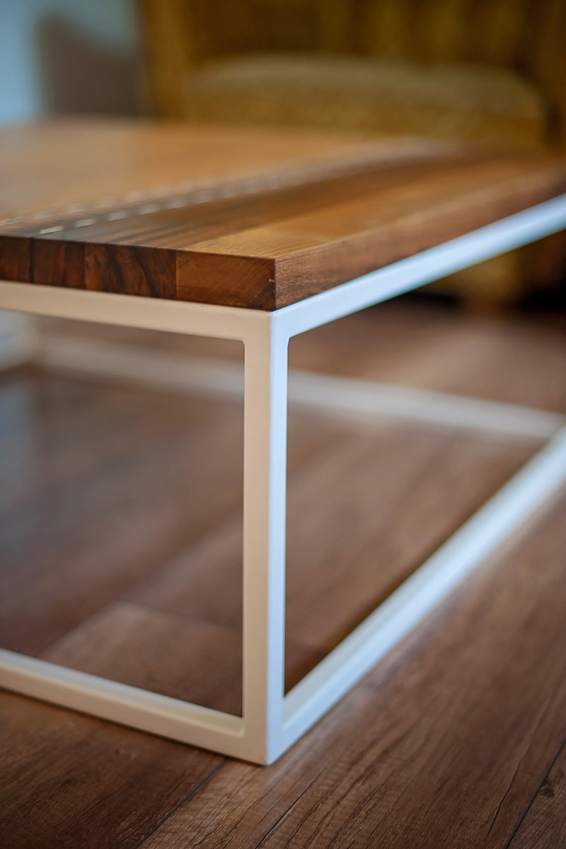 Cofee Table Walnut Oak Stitch Googa Wood