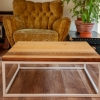 Cofee table Walnut-Oak Stich