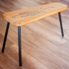 Oak bench Tripod