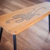 Oak bench Tripod